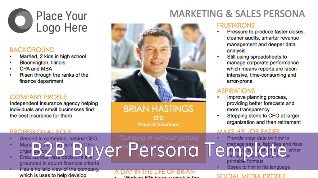 Customer Persona Template | How To Create A B2b Buyer Persona