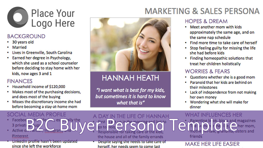 a step by step guide for creating a b2c buyer persona. Black Bedroom Furniture Sets. Home Design Ideas